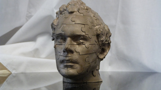 3D modelling: High Quality 3D Printed head puzzle