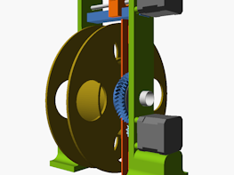 CAD design file for 3D Printer Filament Winder