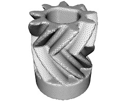CAD design for a gear which drives the Ultimaker 2 3D printer extruder