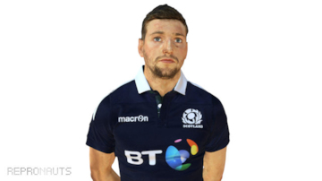 Scots Rugby International Finn Russell 3D Scan