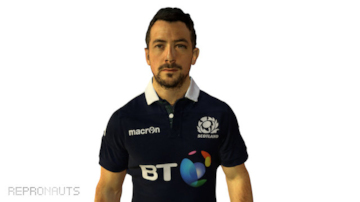 Scots Rugby Captain Greig Laidlaw 3D Scan