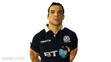 Scots Rugby International John Hardie 3D Scan